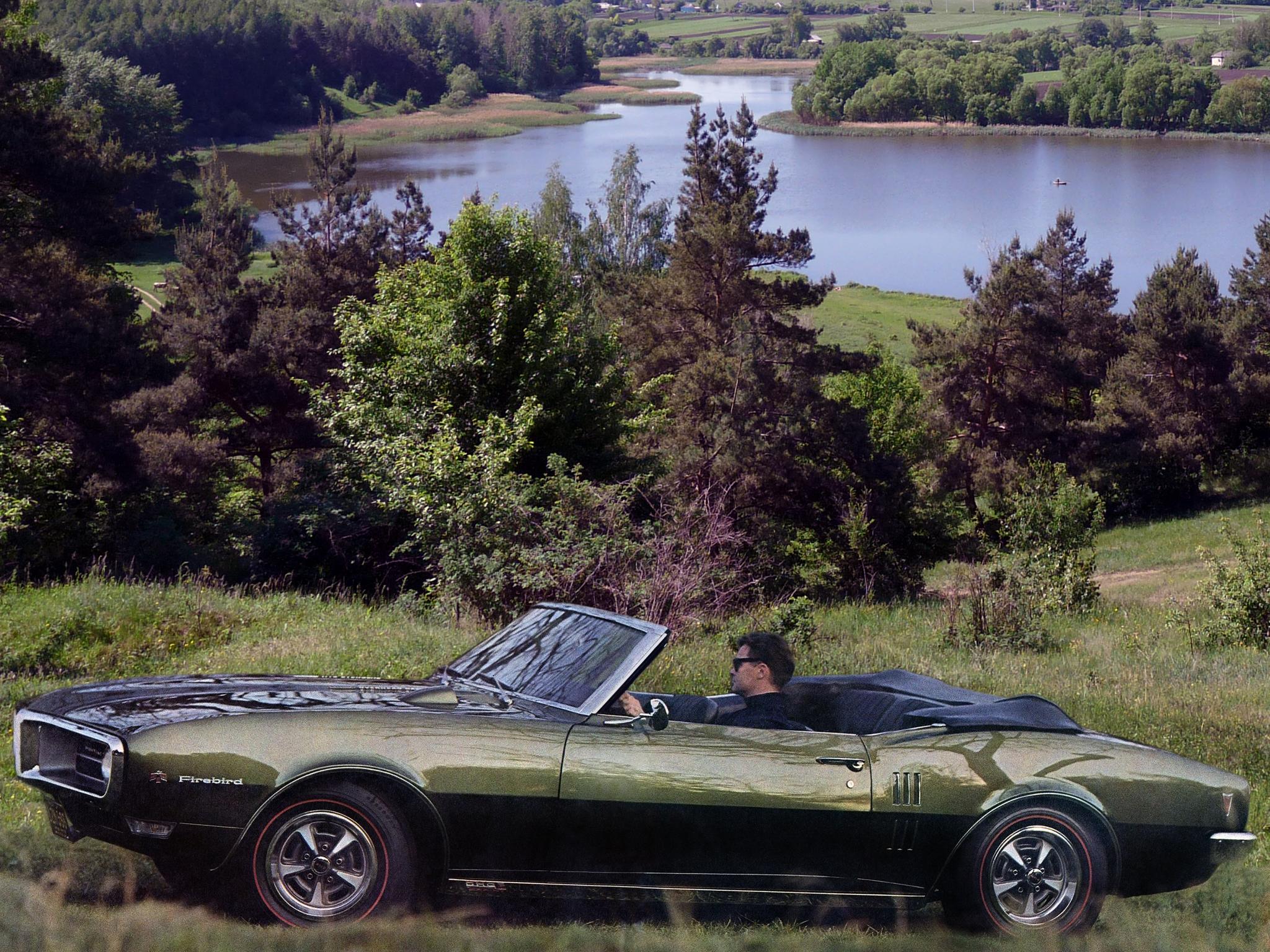 1968 Pontiac Firebird Sprint Convertible 2367 muscle classic wallpaper 2048x1536