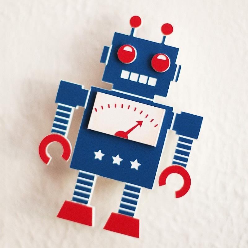 Retro Robot Wallpaper 800x800
