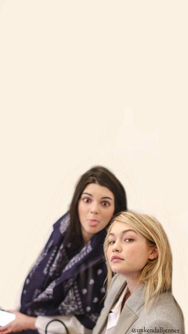 Kengi Kendall and Gigi lockscreenwallpaper Kendall jenner lock 640x1137