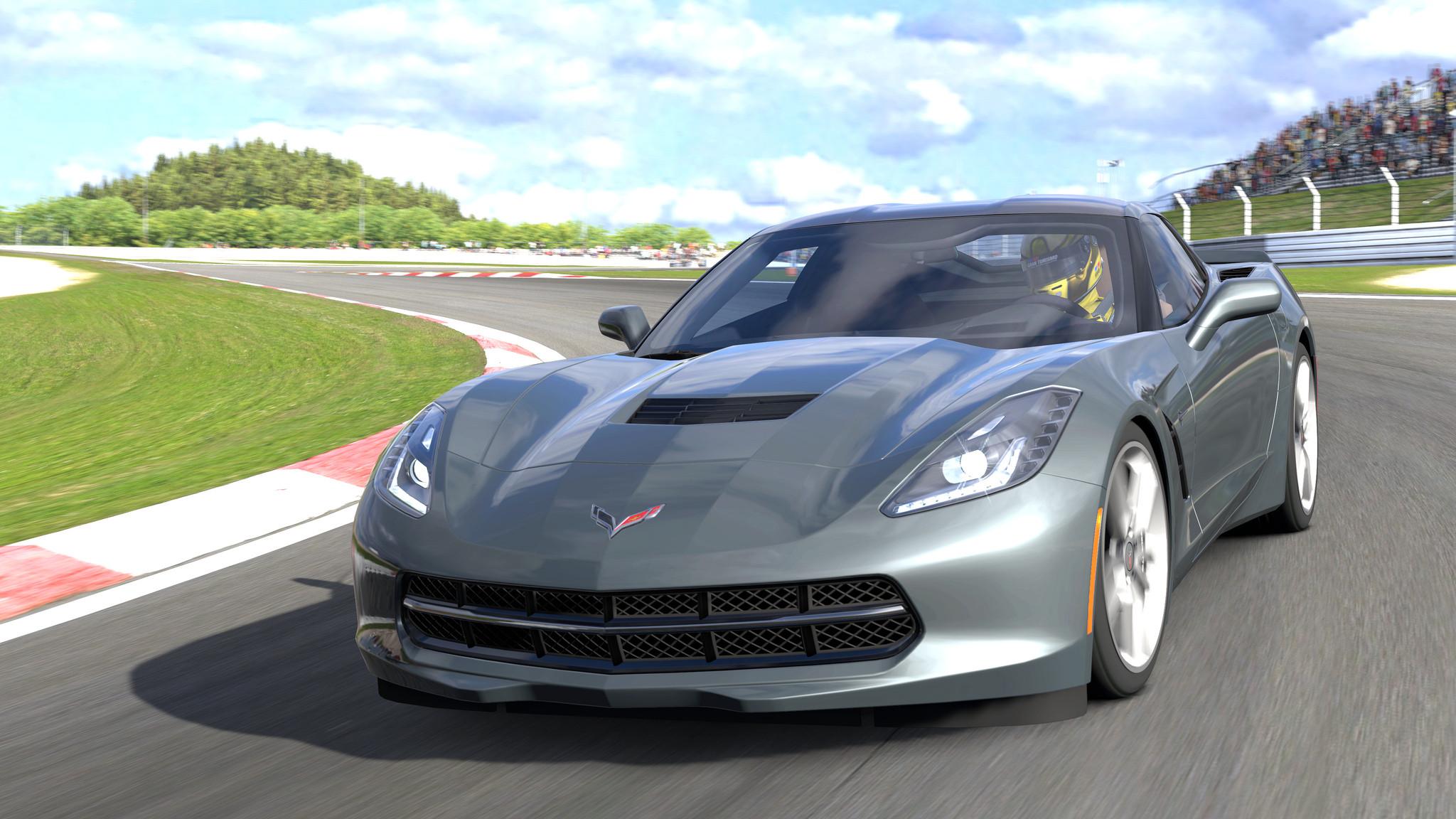 2014 Corvette c7 images desktop Background HD Wallpaper for Desktop 2048x1152