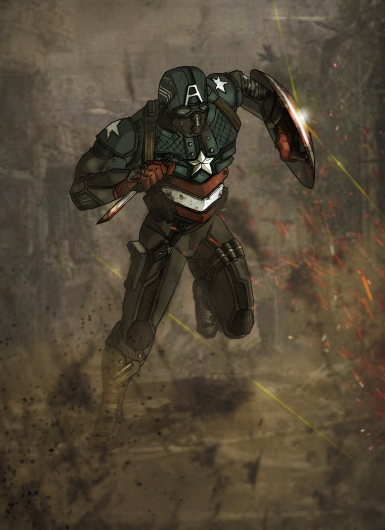 Marvel Cinematic Universe BuckyCap by DarthDestruktor on 762x1049
