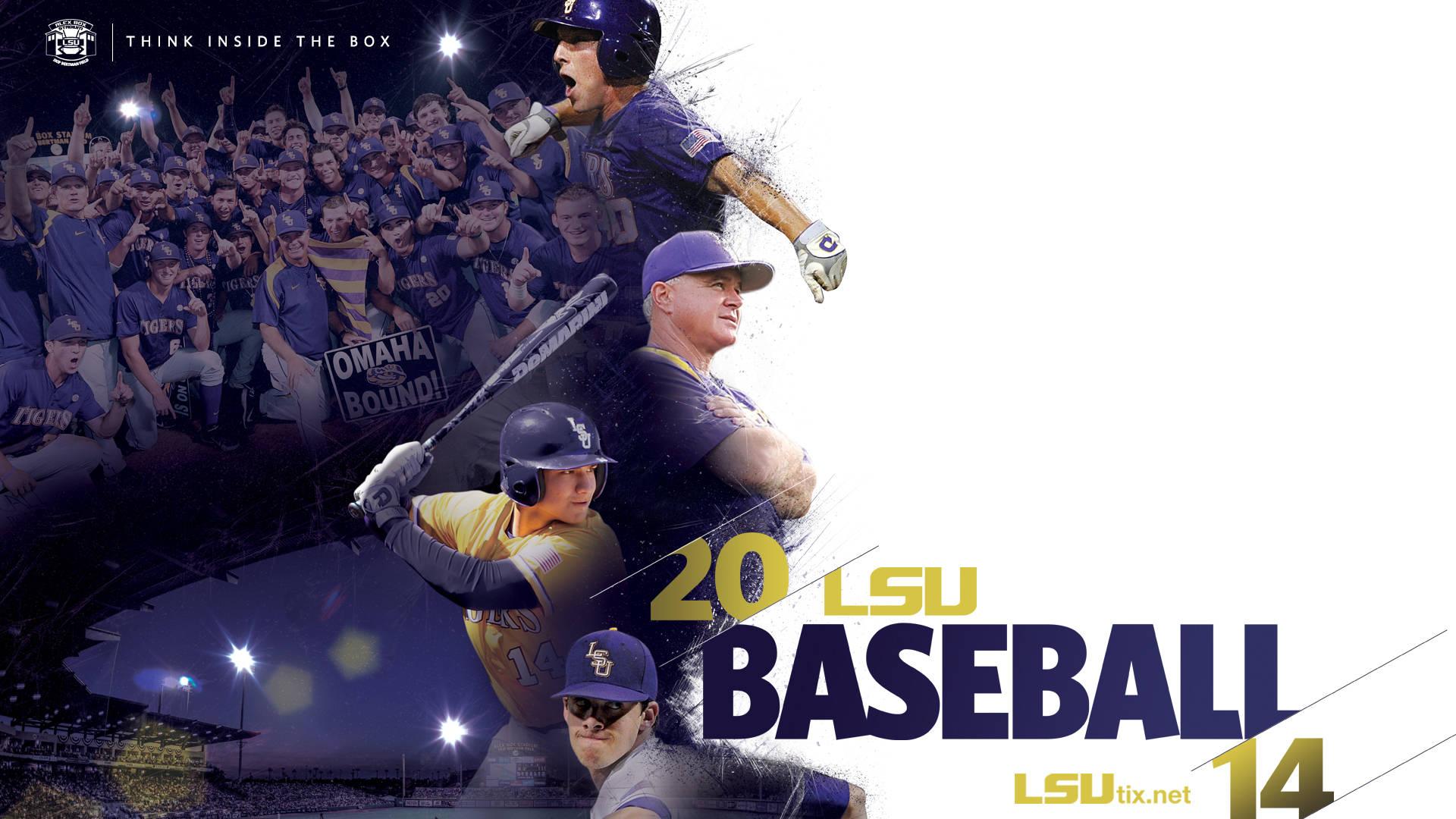 Desktop LSU - WallpaperSafari Baseball Wallpaper