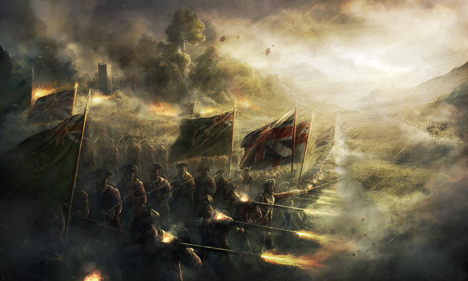 and historical battle artworks and wallpapers 1 Design Utopia Trend 1500x900