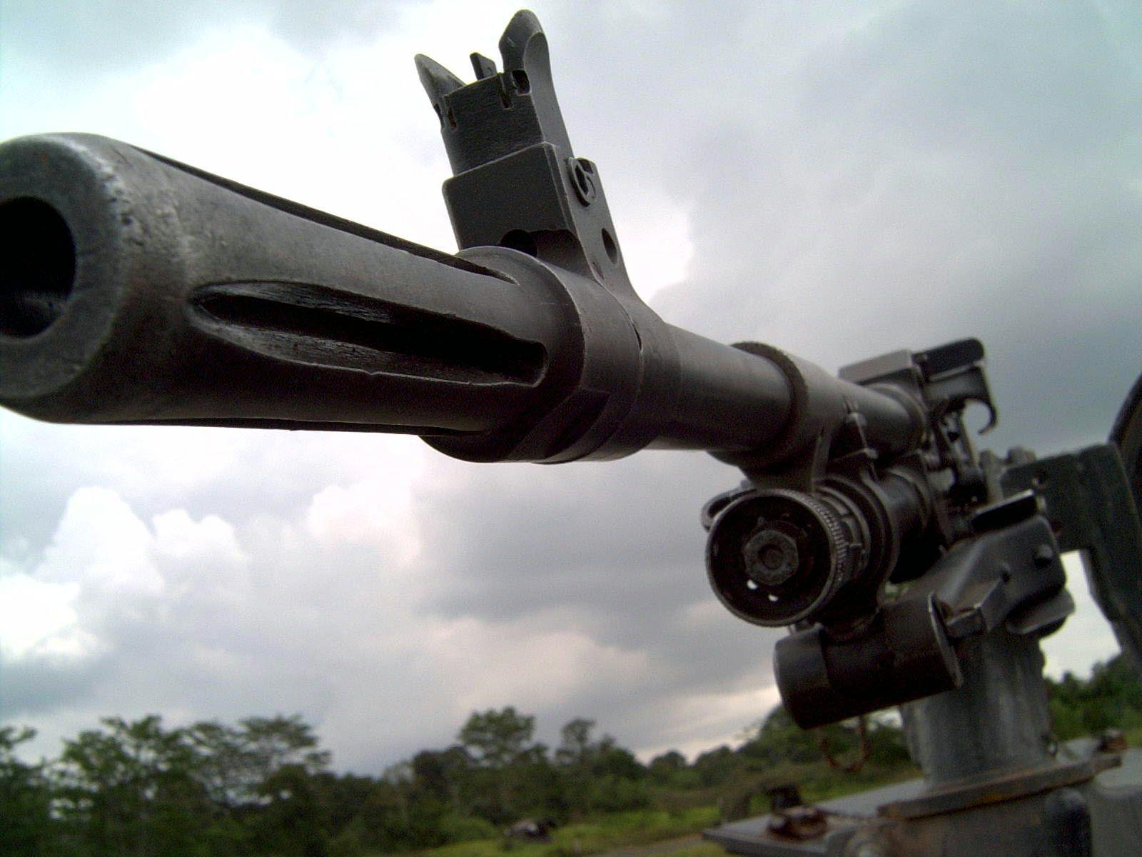 The M60 machine gun by garvin 1600x1200