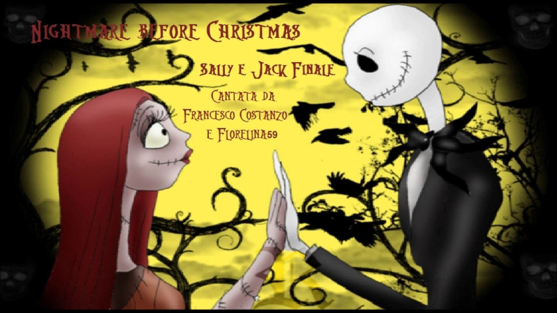 Jack and Sally Wallpapers   Top Jack and Sally Backgrounds 1920x1080