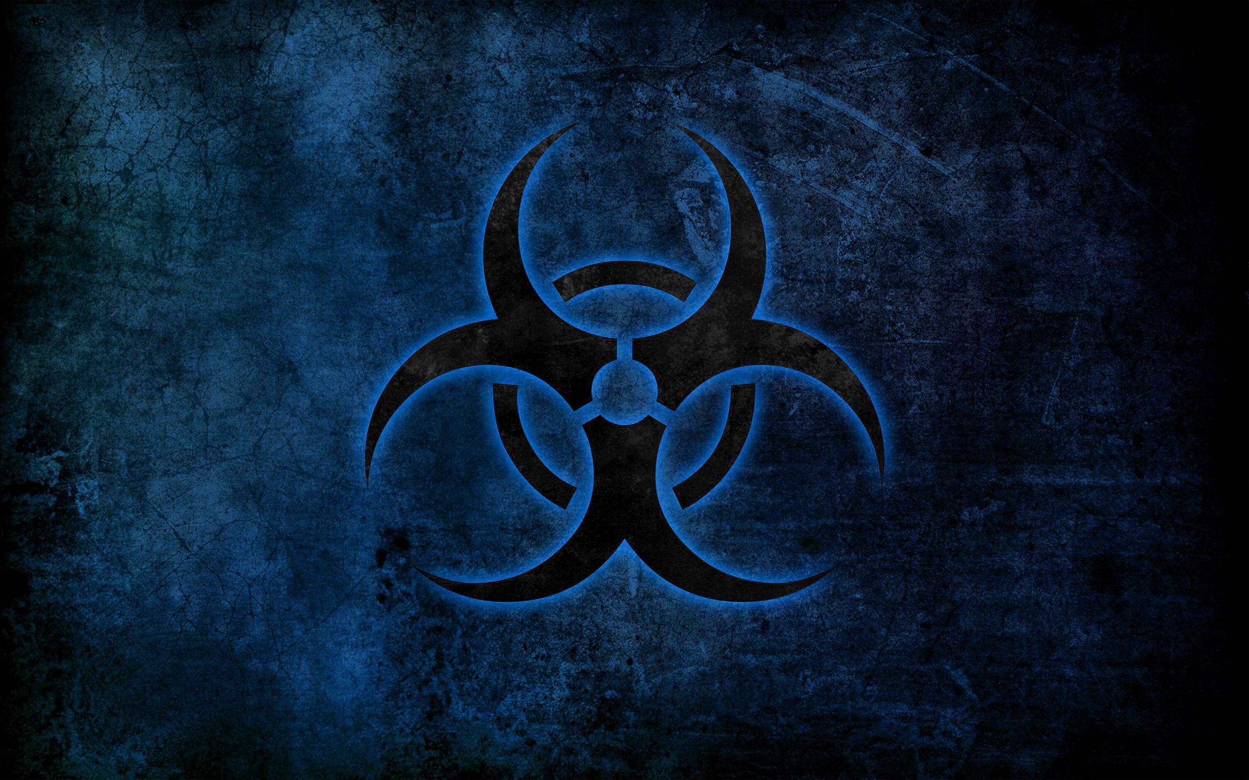 Pics Photos   Biohazard Symbol Wallpaper 2560x1600