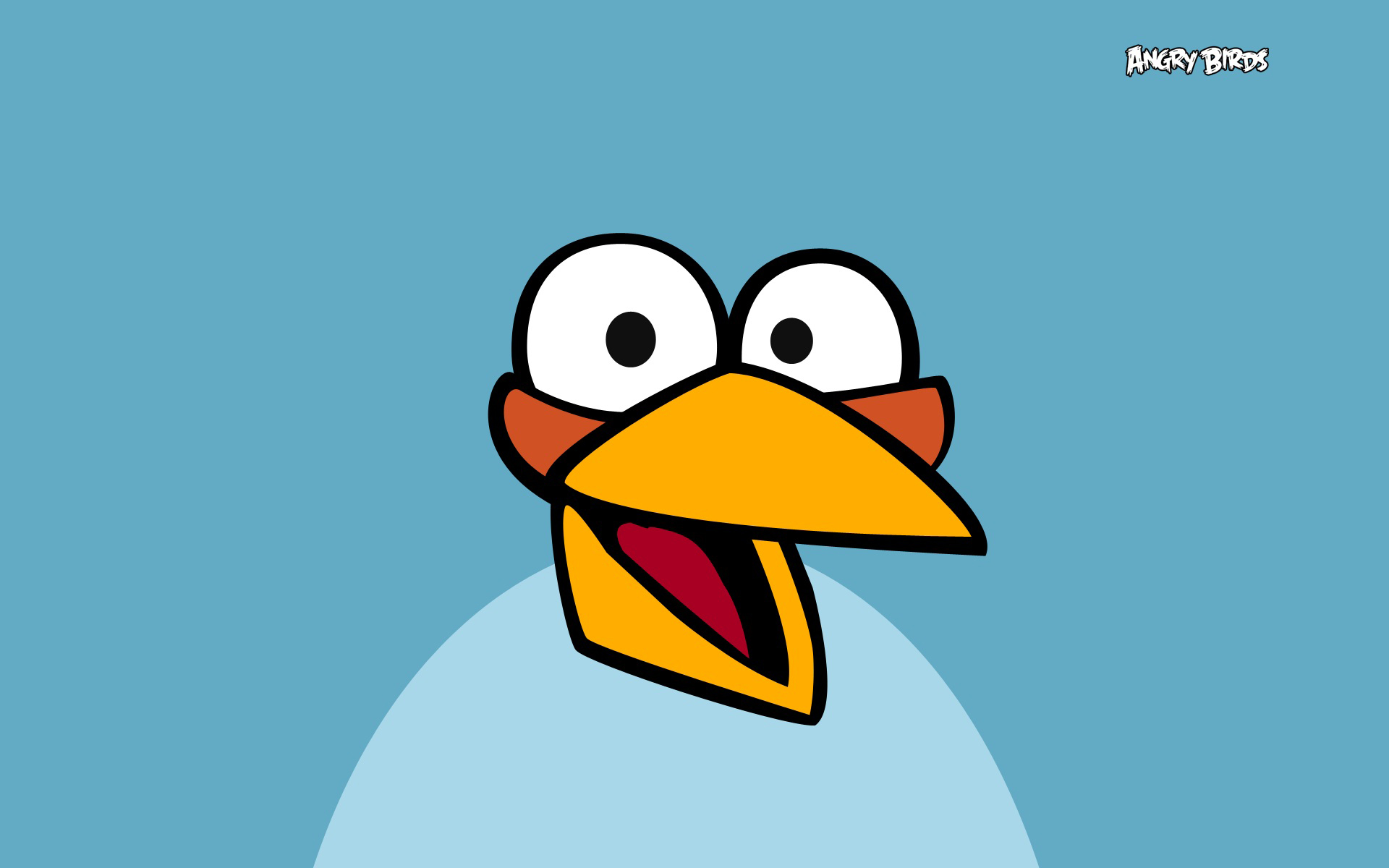 Blue Angry Bird Wallpapers 7568 Wallpaper Cool Walldiskpapercom 1920x1200