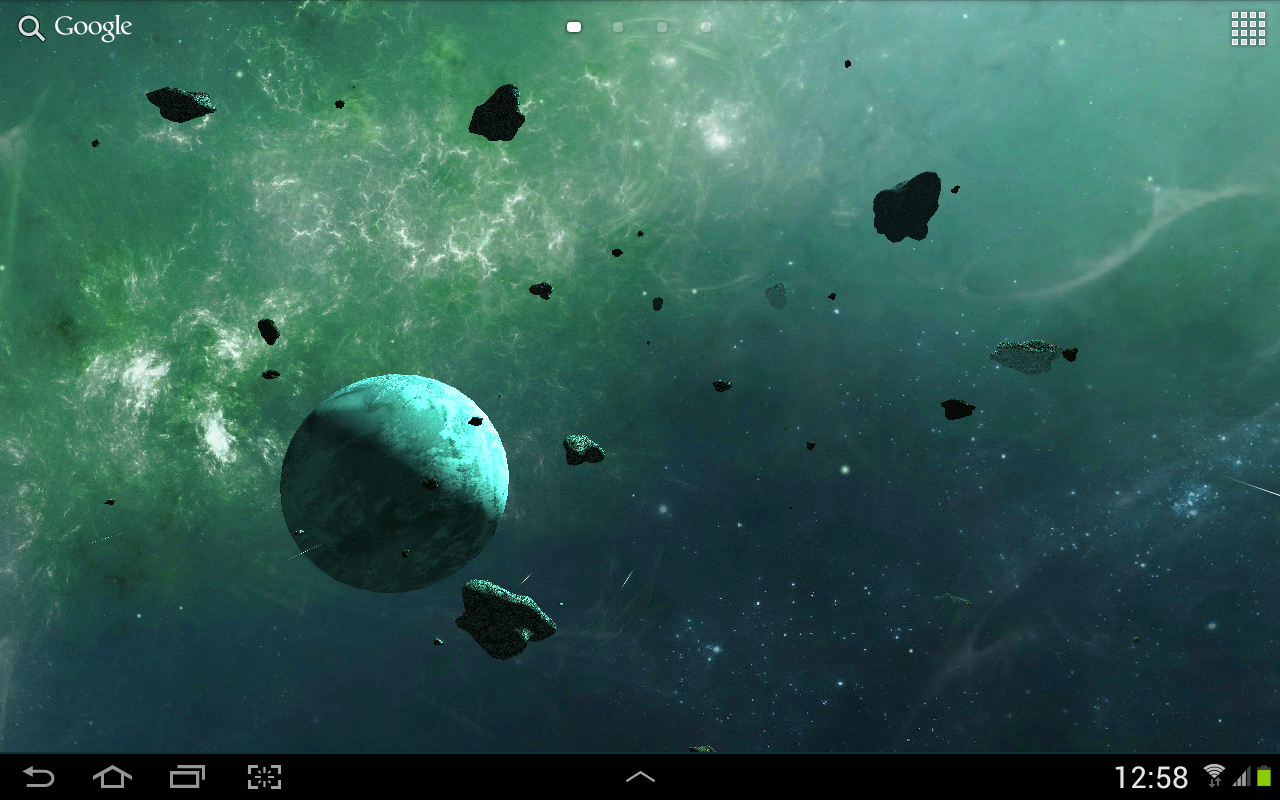 Asteroids 3D live wallpaper   Android Apps on Google Play 1280x800