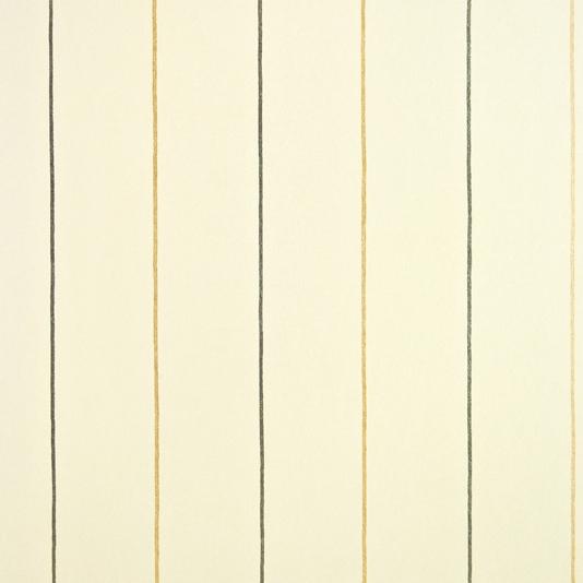 Epsom Stripe Wallpaper Cream wallpaper with alternating metallic 534x534