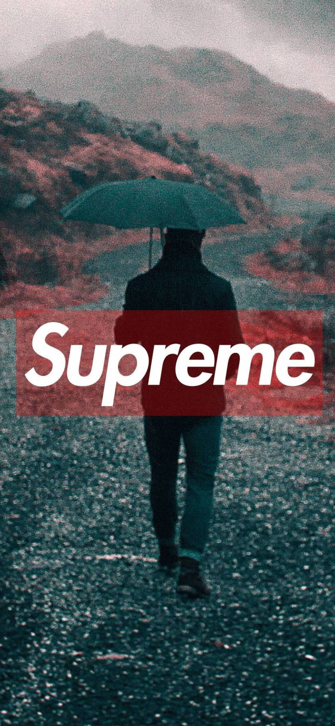 Supreme iPhone X Wallpapers   Top Supreme iPhone X 1125x2436