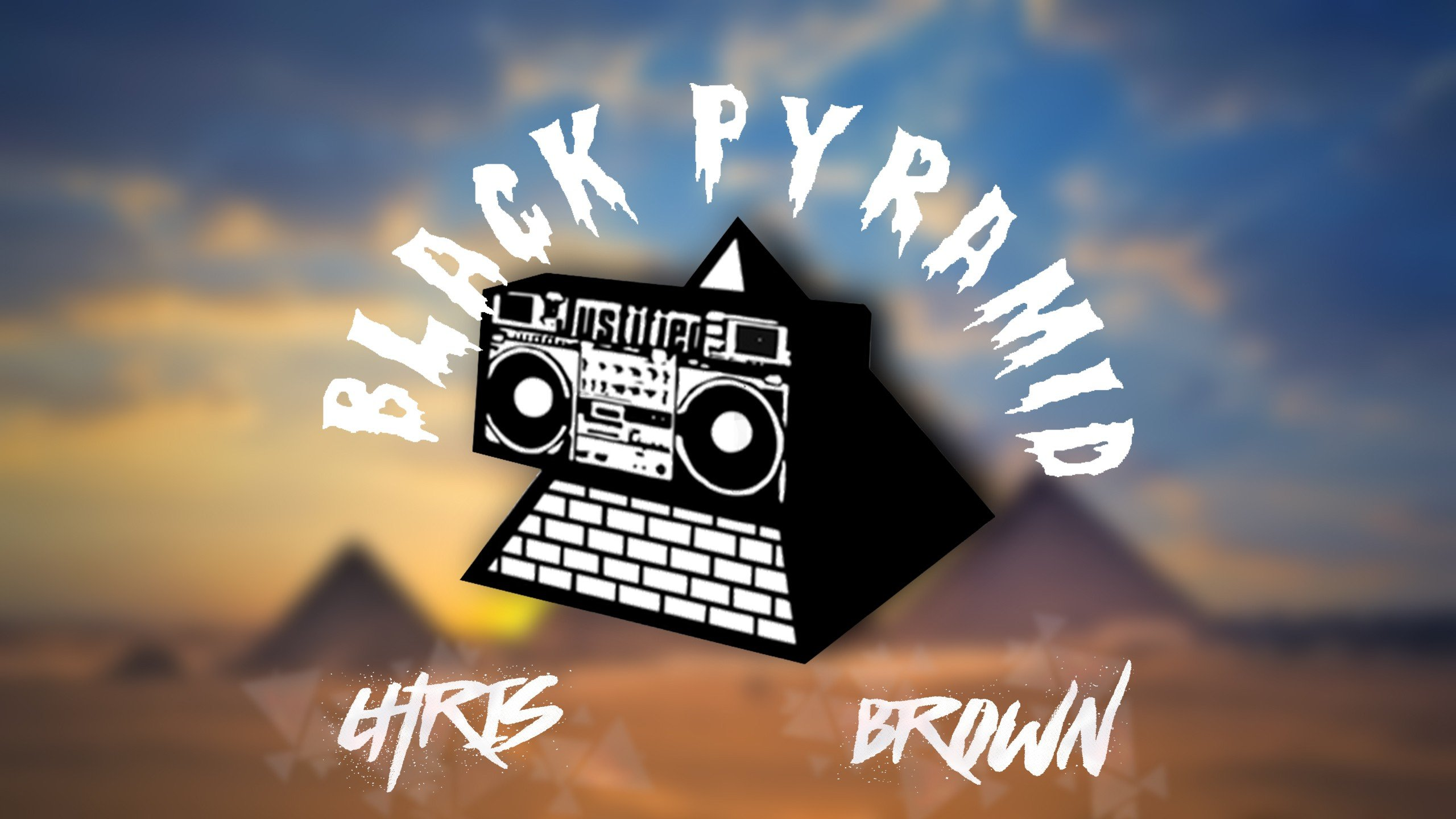 black pyramid Chris brown Breezy Wallpapers HD Desktop and 2560x1440