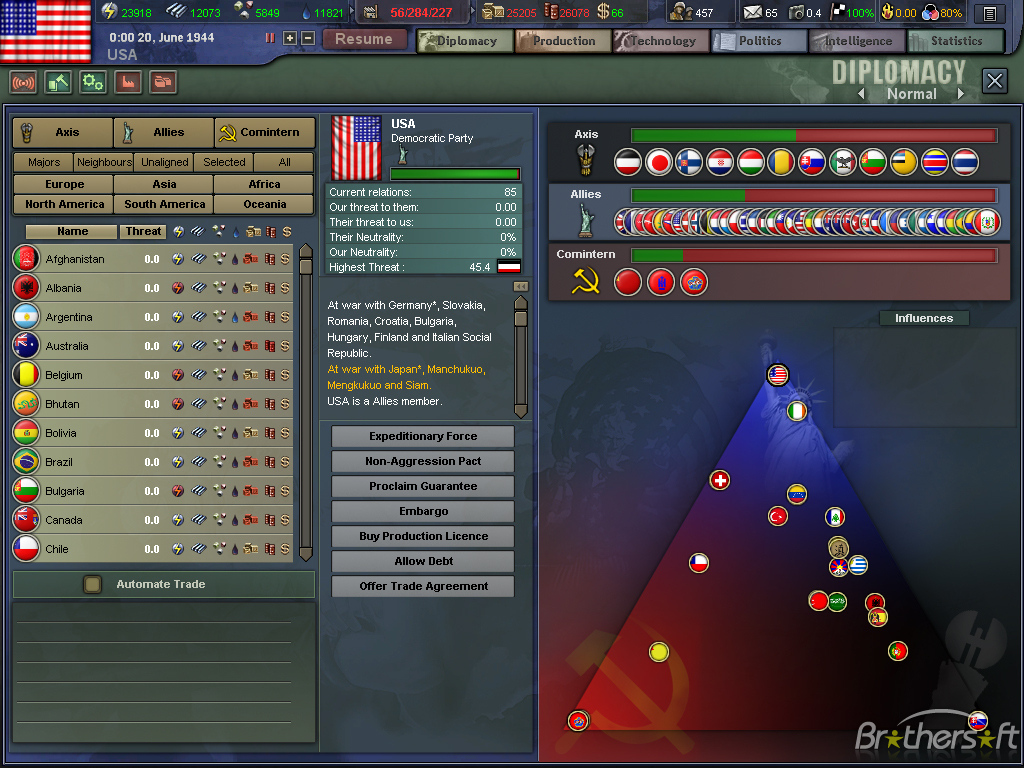 Free Download Hearts Of Iron Iii For Mac Download 1024x768