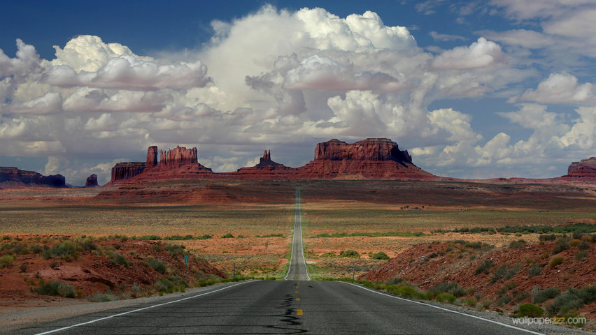 Download Arizona Road HD Wallpaper Wallpaper 852x480