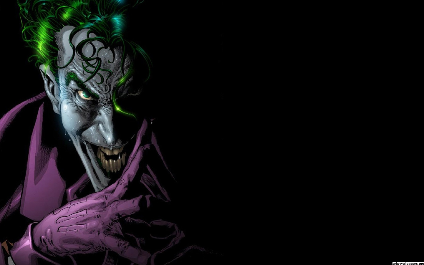 Joker Comic Wallpaper 1440x900