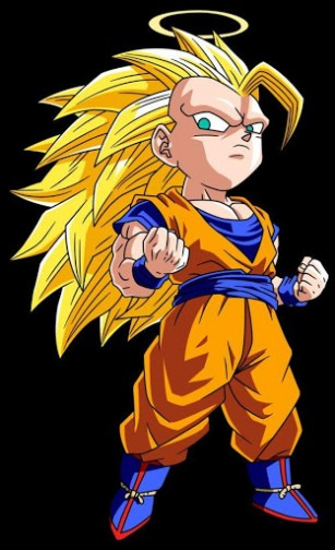 View bigger   Goku Handsome Live Wallpaper for Android screenshot 307x504