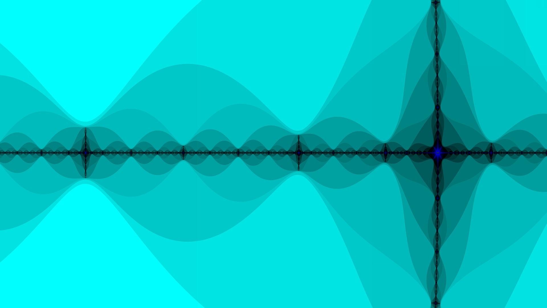 Sound waves wallpaper 12179 1920x1080
