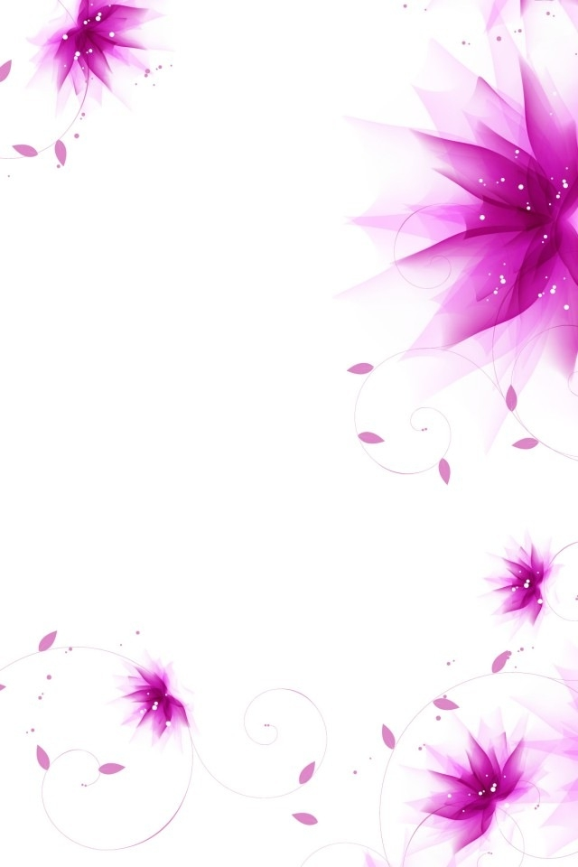 Photo Collection Purple Flower Abstract Wallpapers