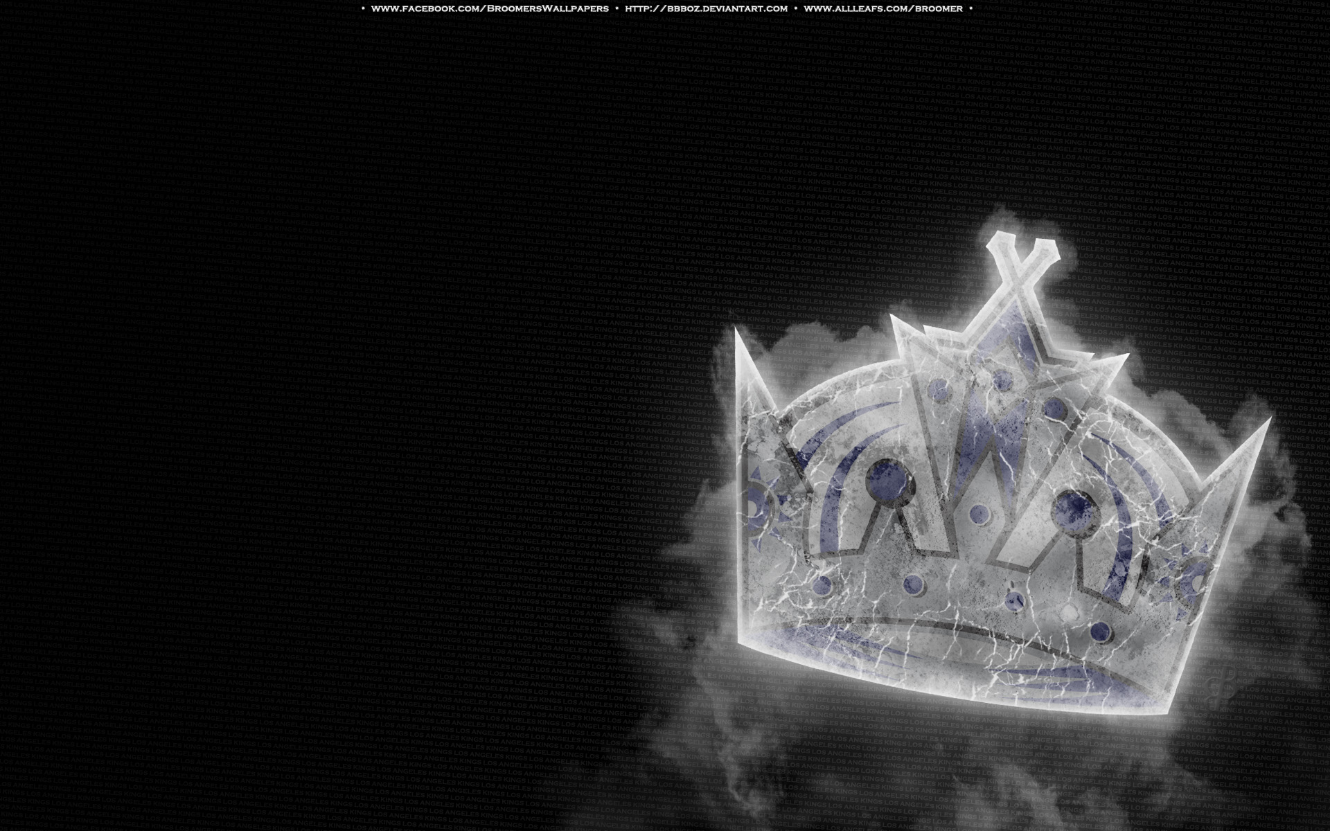 Los Angeles Kings Ice by bbboz 1920x1200