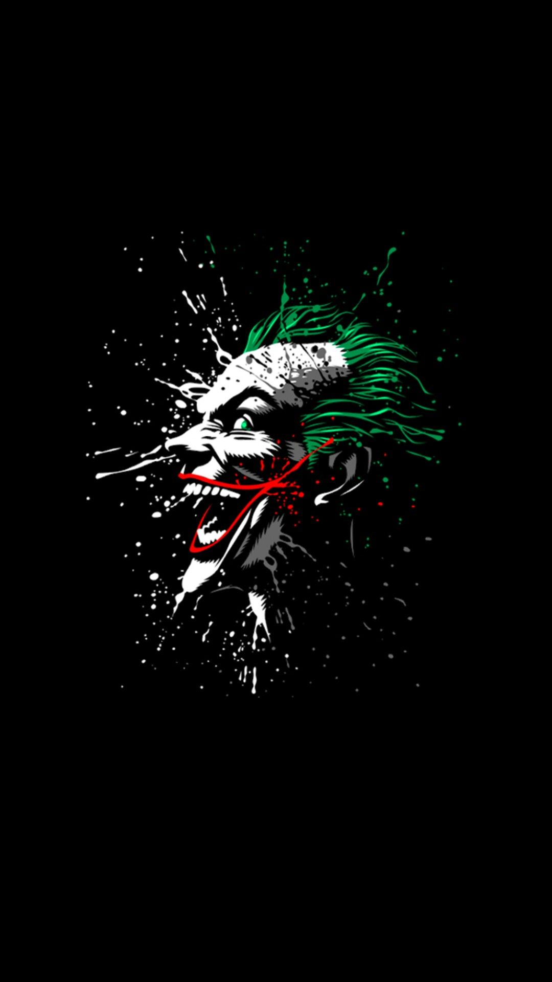 Pin by EC on Batman Joker wallpapers Joker Joker pics 1080x1920