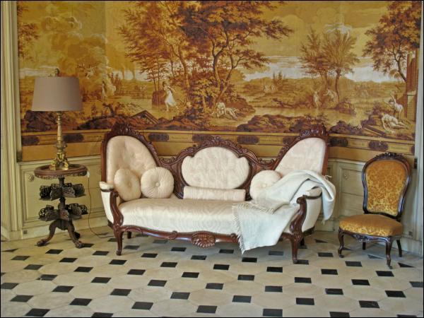 zuber scenic america wallpaper panels wallpapersafari. Black Bedroom Furniture Sets. Home Design Ideas