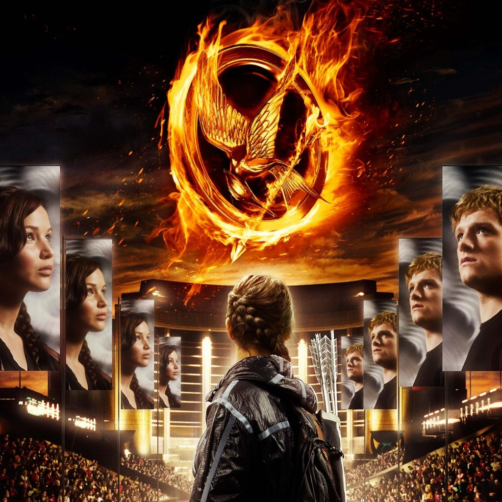 The Hunger Games ipad wallpaper 1024x1024