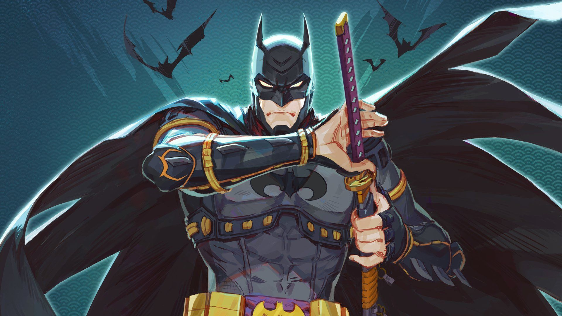 Batman Ninja Wallpapers   Top Batman Ninja Backgrounds 1920x1080