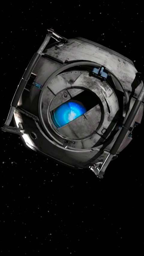 portal 2 animated wallpaper
