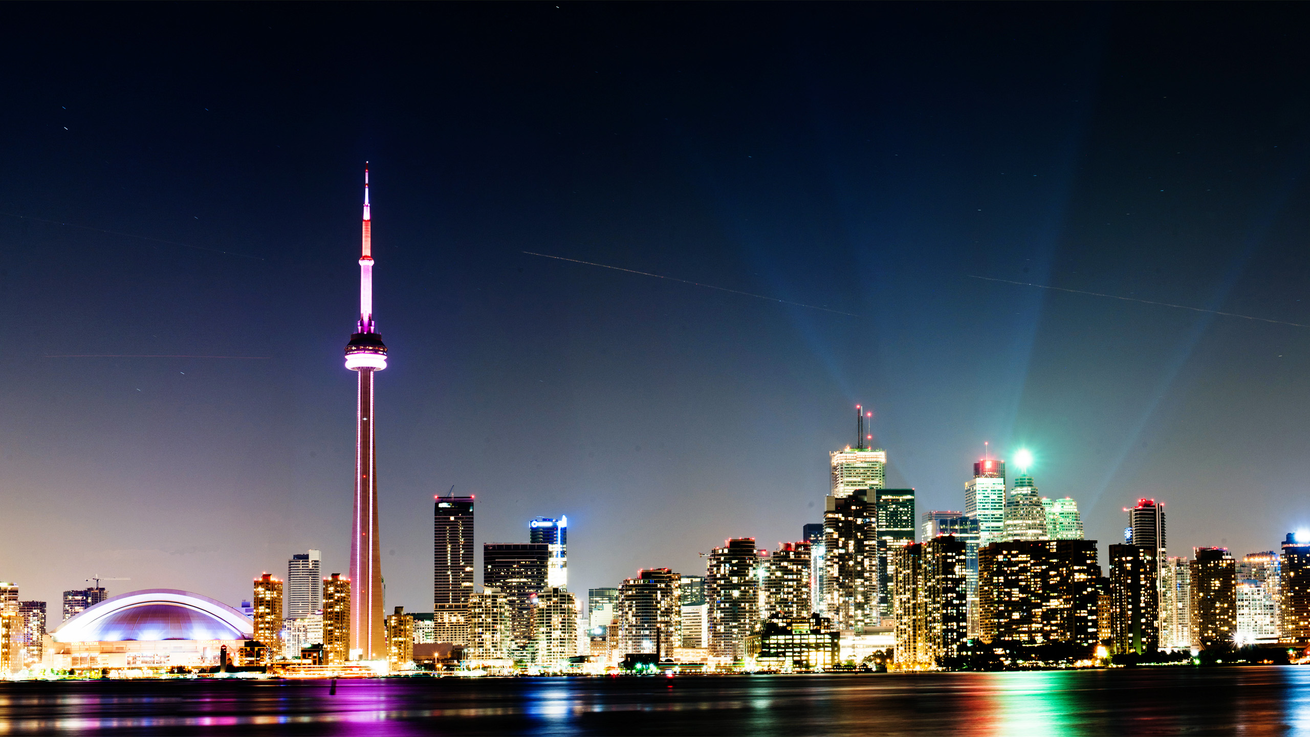 Toronto Nightlife Wallpaper Your Articles 2560x1440