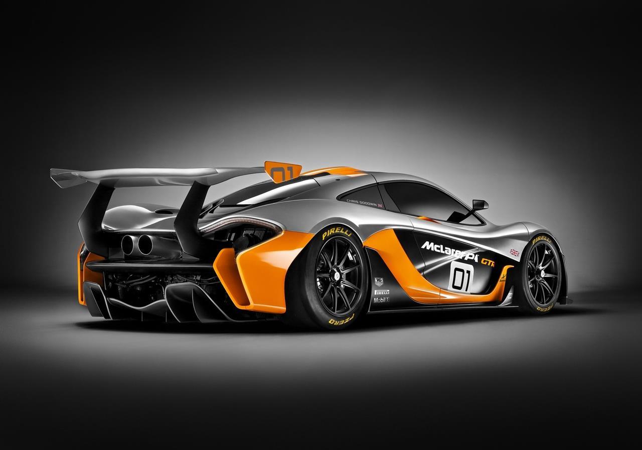 McLaren introduce a new concept design McLaren P1 GTR Concept in 1280x896