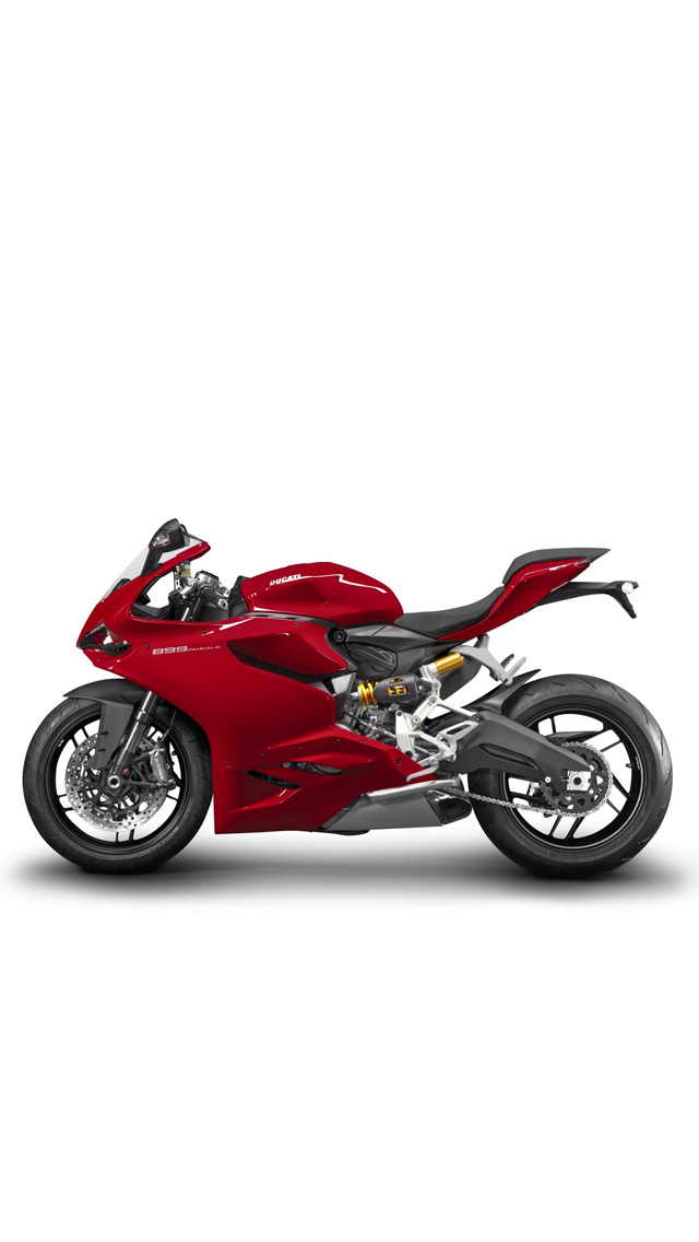 wallpapers HD   2014 Ducati 899 Panigale Breaks Cover Backgrounds 640x1136