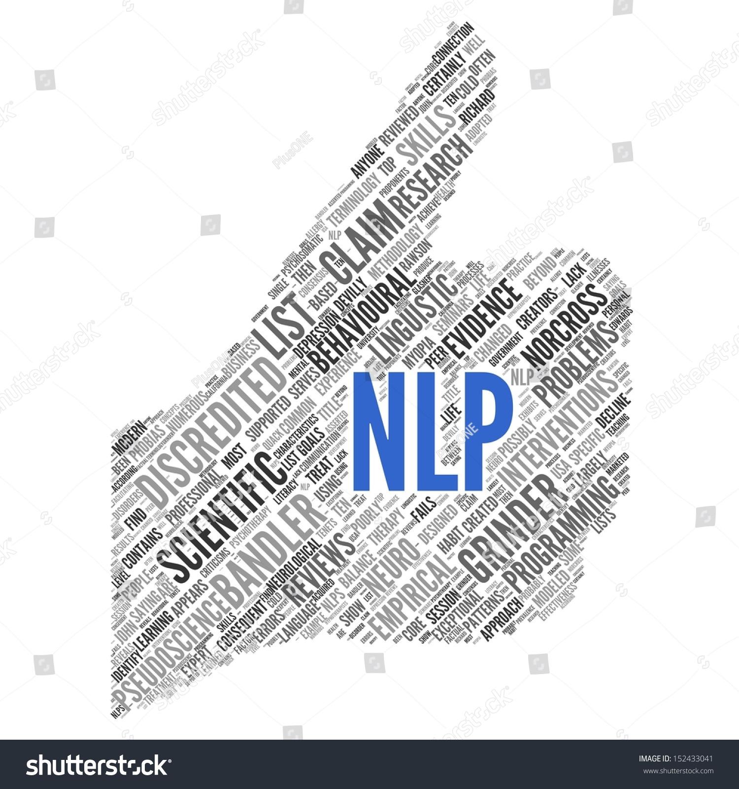 Nlp Neuro Linguistic Programming Conceptual Wallpaper Stock 1500x1600