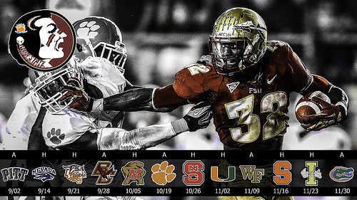 Fsu Football 2013 Wallpaper Posterswallpapers for 500x281