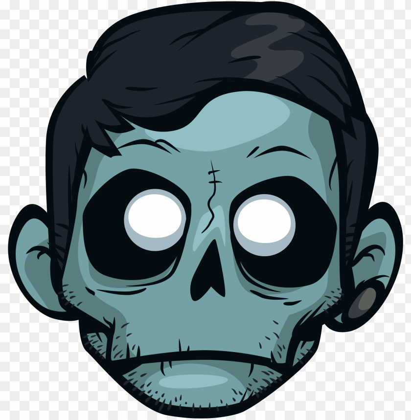 cartoon zombie png image   zomboy game time PNG image with 840x859