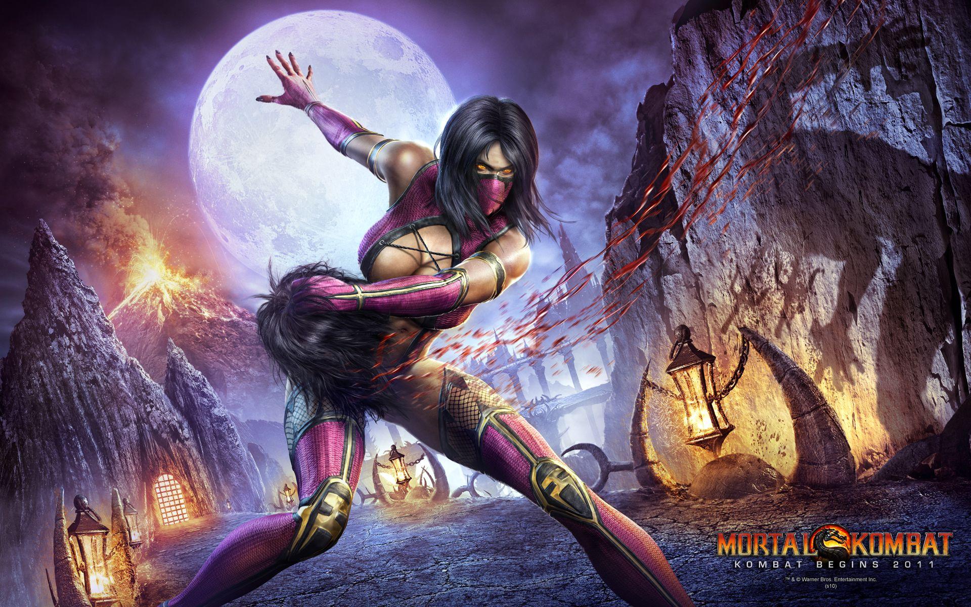 28+] Mortal Kombat Wallpaper Mileena on