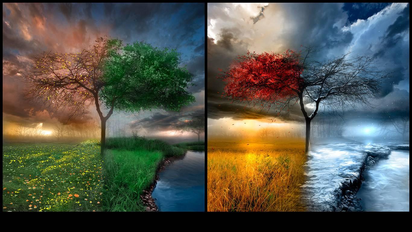 Change Ready Seasons Desktop Wallpapers For Desktop Backgrounds 1366x768