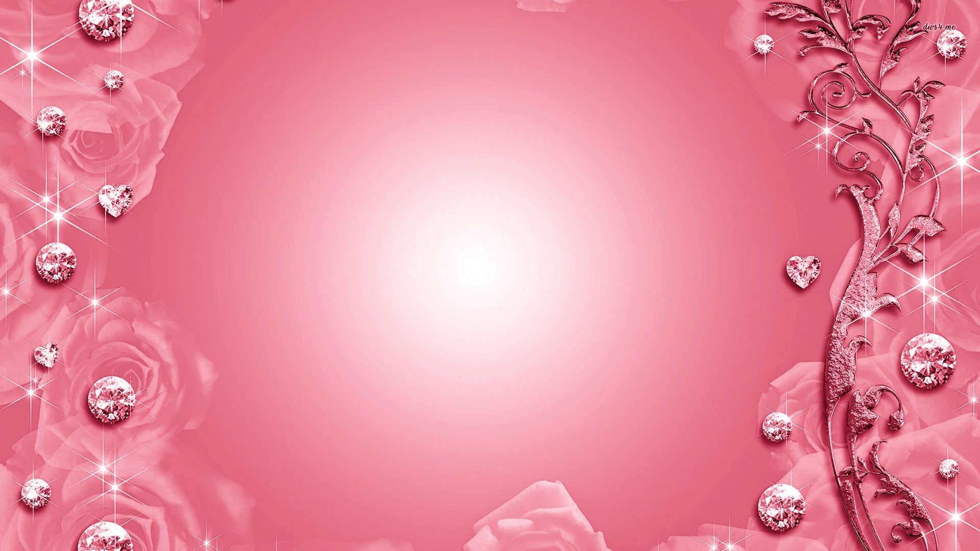 Pink Diamond Wallpaper