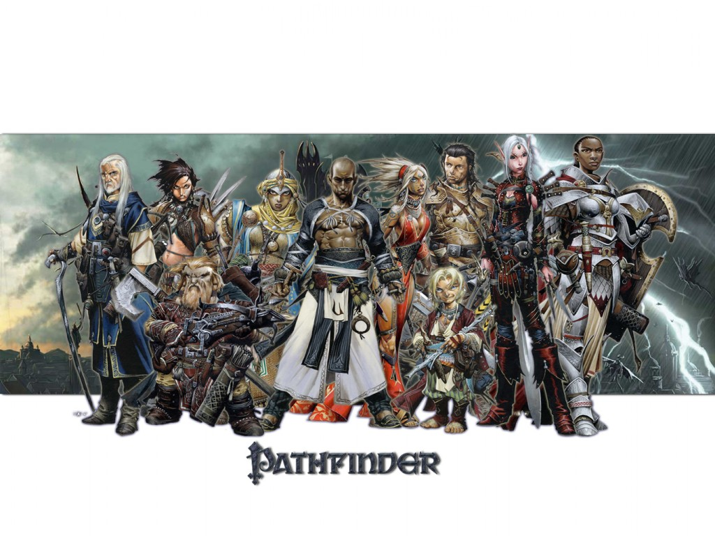 Why did DD Pathfinder art become so stylized   Page 28 1024x768