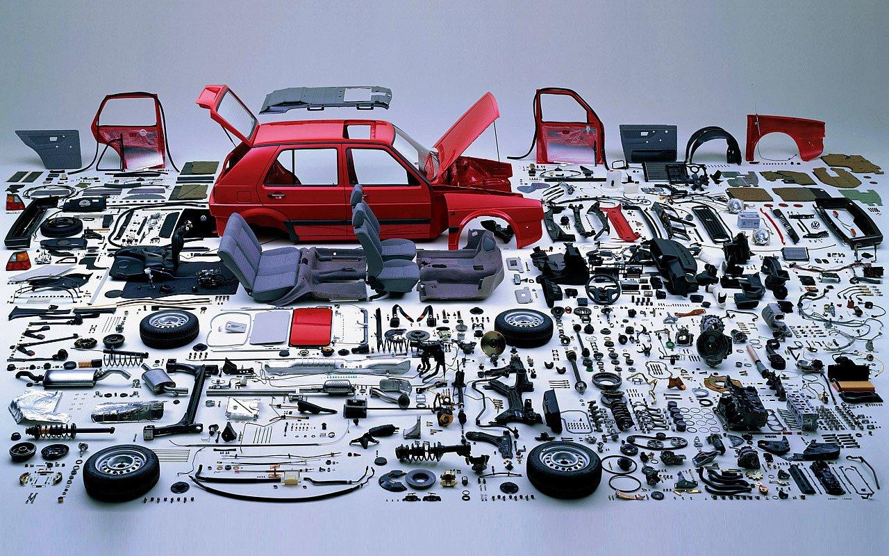 Disassembled Golf Mk1 Wallpaper 1280x800 ID51720 1280x800