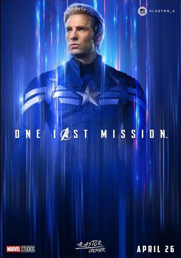 Free Download Captain America Avengers Endgame Fan Art The