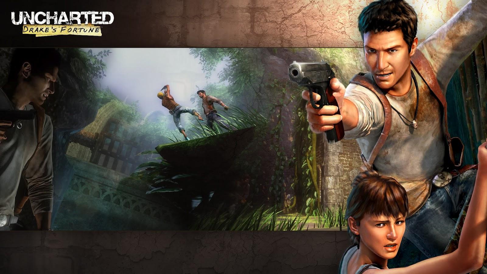 Uncharted1wallpapers4 Uncharted 1 Wallpapers In HD 1080p 1600x900