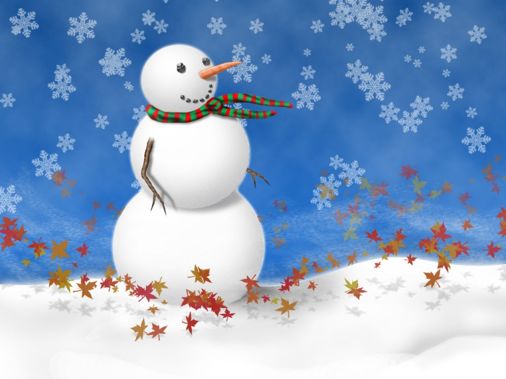 Free Christmas Snowman Wallpapers Collection 9 Wallpapers
