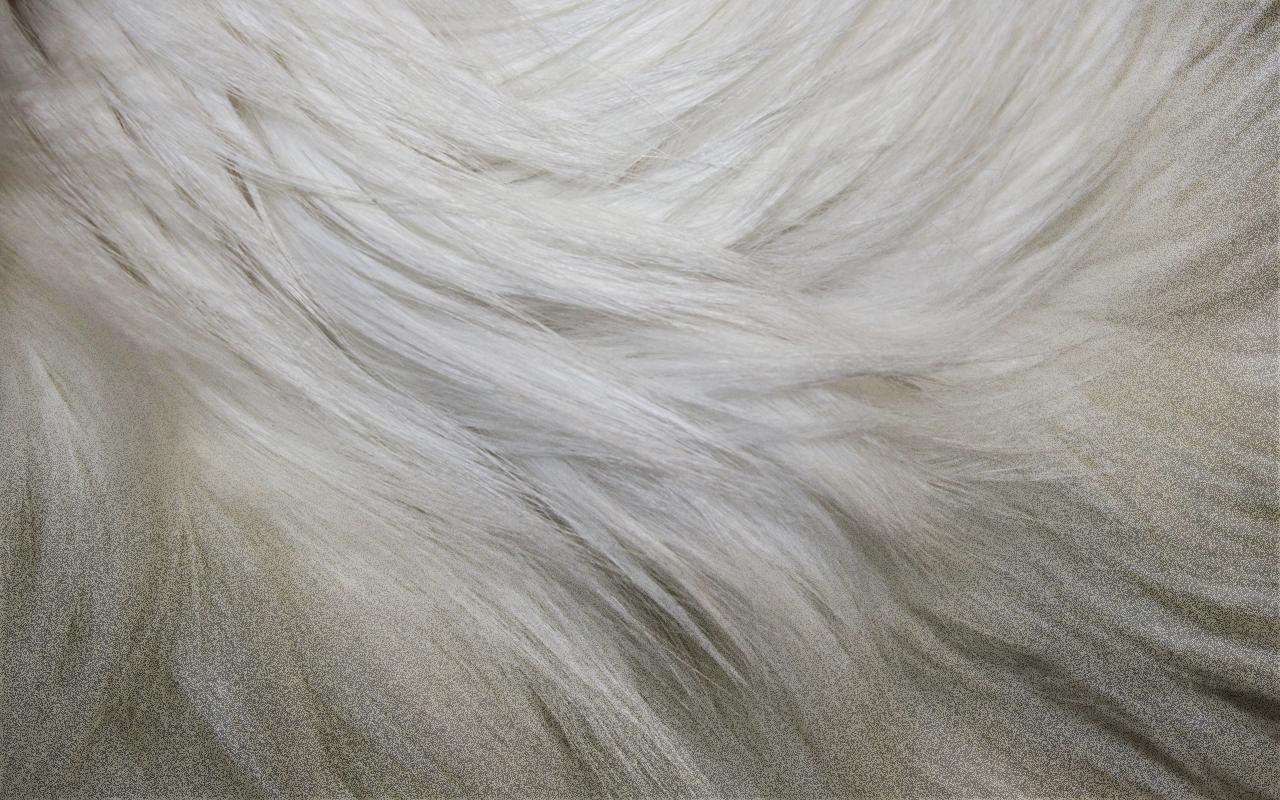 White Fur Vape Skin for Joyetech eGo ONE 2200 mAh 1280x800