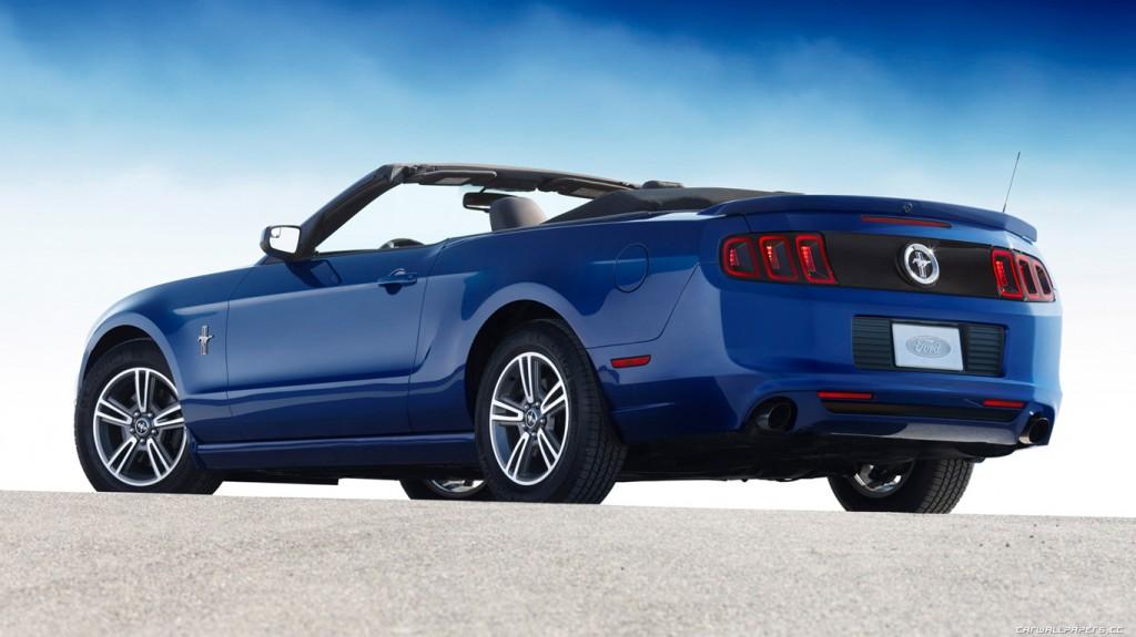 2016 Mustang V6 Convertible HD Wallpapers 1024x575