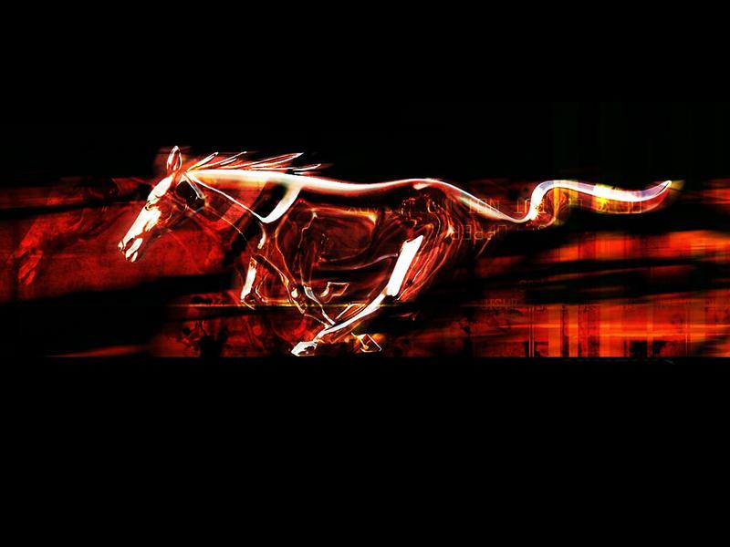Ford Mustang Logo Wallpaper