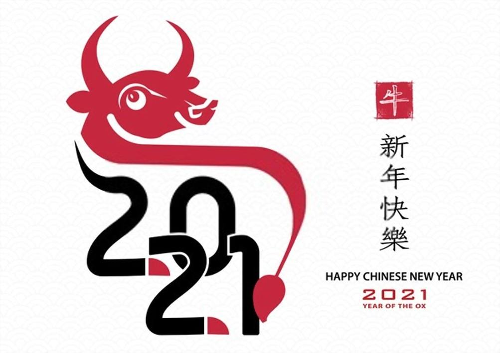 Happy Chinese New Year 2021 Images Pictures Wallpapers OX Year 1003x709