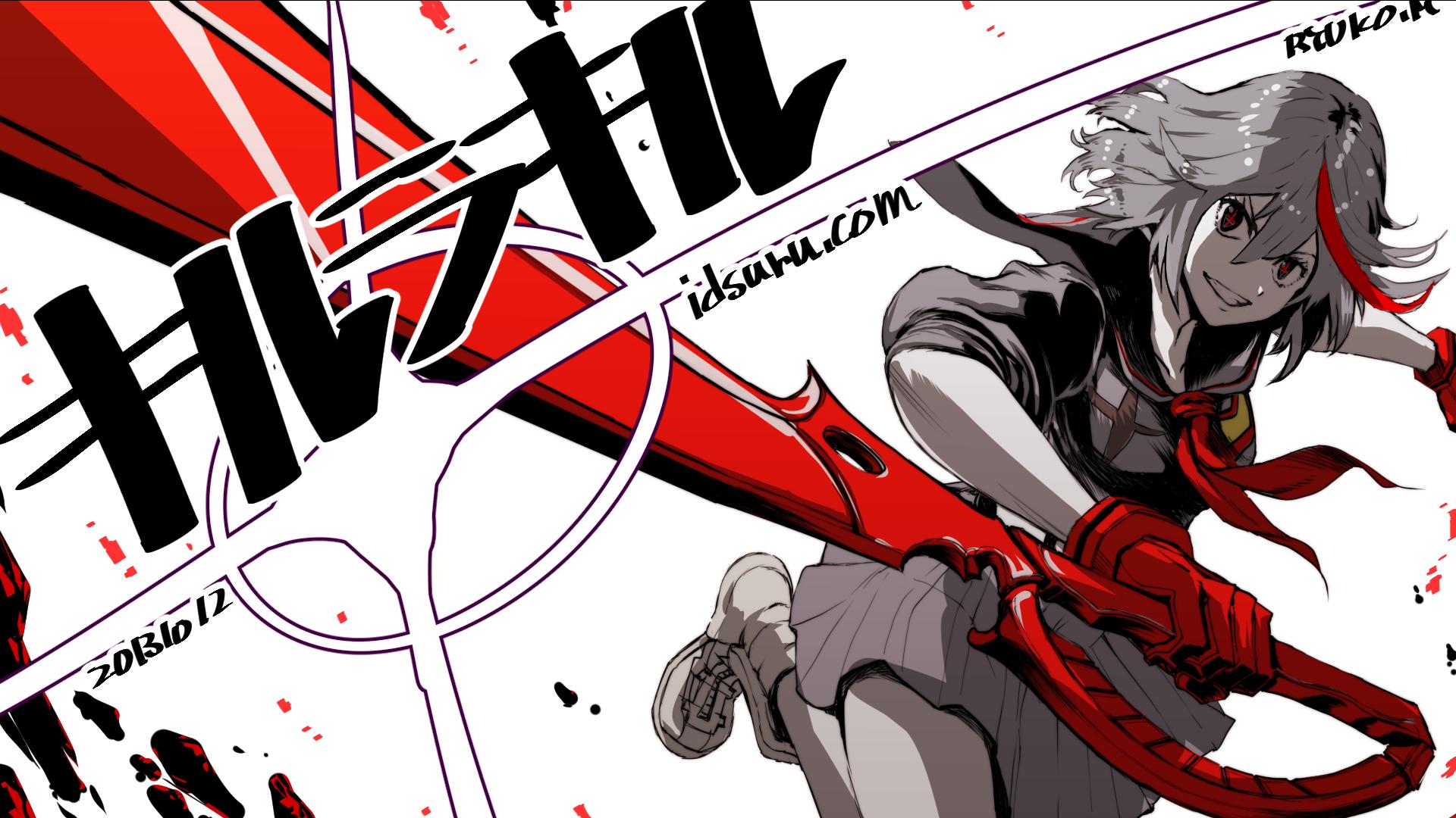 Kill la kill matoi ryuuko watermark wallpaper 1920x1080 163172 1920x1080