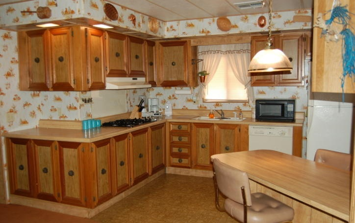 country kitchen wallpaper ideas   weddingdressincom 724x456