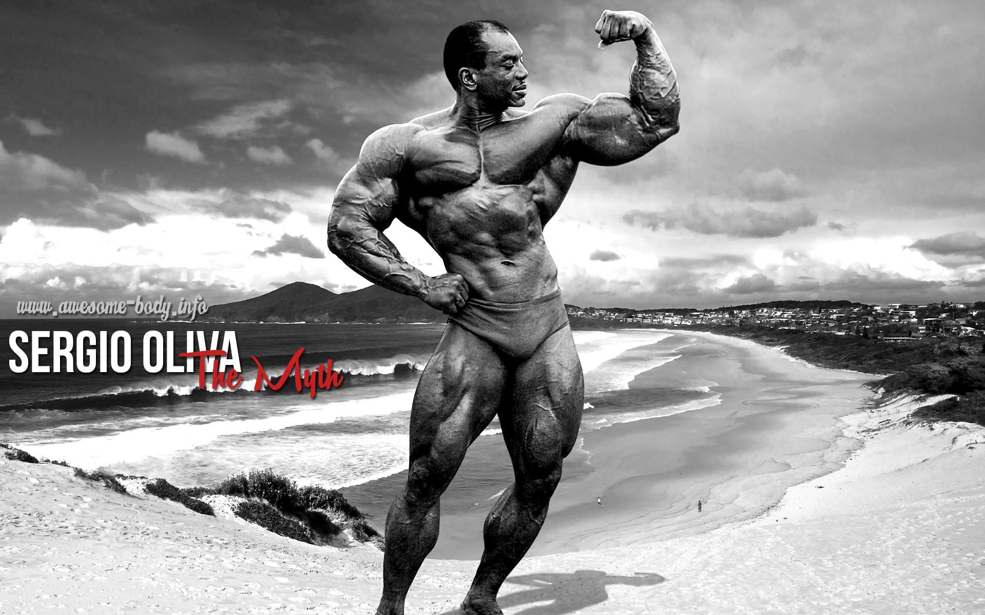 sergio oliva on australian beach Sergio Oliva 1920x1200