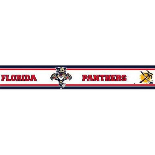 PANT Florida Panthers 5 5 inch Height Wallpaper Border   Walmartcom 500x500