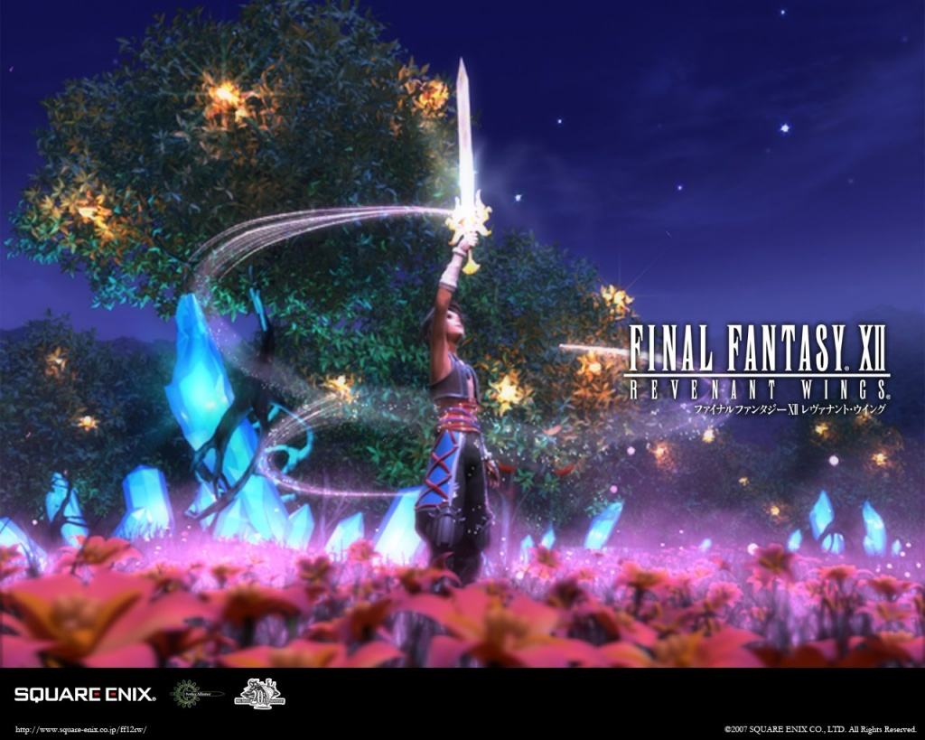 Final Fantasy wallpaper   Final Fantasy A Brief History 1024x819